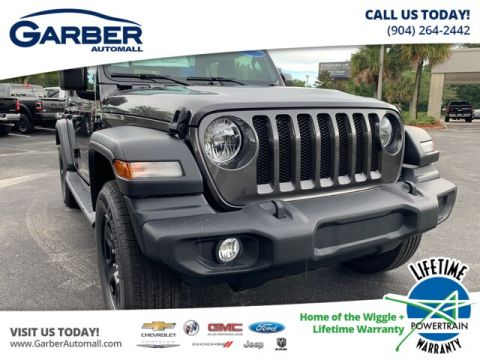 2020 Jeep Wrangler Unlimited Sport 4x4, Trailer Tow, Soft Top 4WD