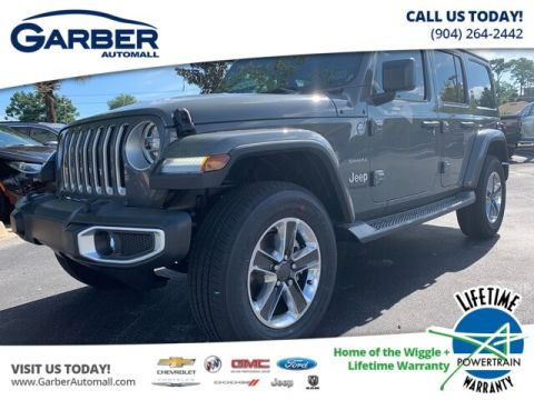 2019 Jeep Wrangler Unlimited Sahara One Touch Roof, Loaded 4WD