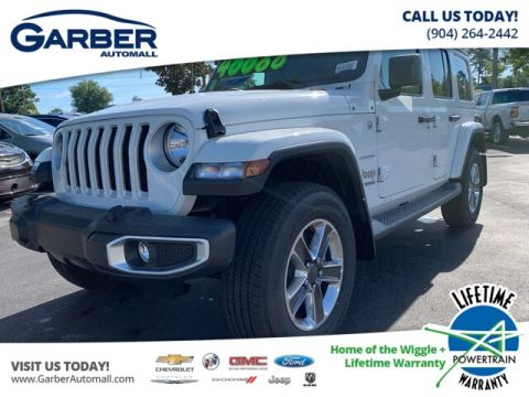 2019 Jeep Wrangler Unlimited Sahara 4x4 Trailer Tow, Leather, Remote Start 4WD
