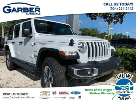 New 2019 Jeep Wrangler Unlimited Sahara 4x4 Leather Seats, Hard Top 4WD