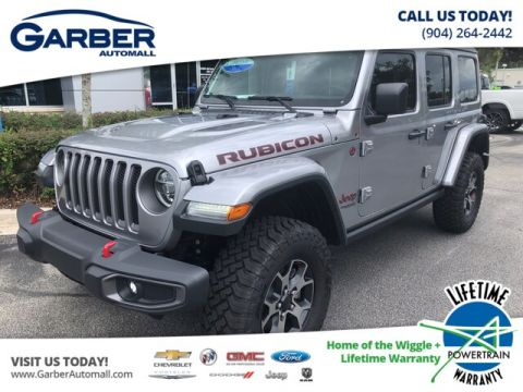 2019 Jeep Wrangler Unlimited Rubicon 4x4, LED Lights, Trailer Tow, Leather 4WD