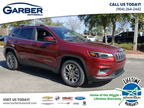 New 2019 Jeep Cherokee Latitude Plus w/ Leather trim