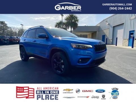 2020 Jeep Cherokee Latitude Plus 4x4, currently in Loaner Service 4WD