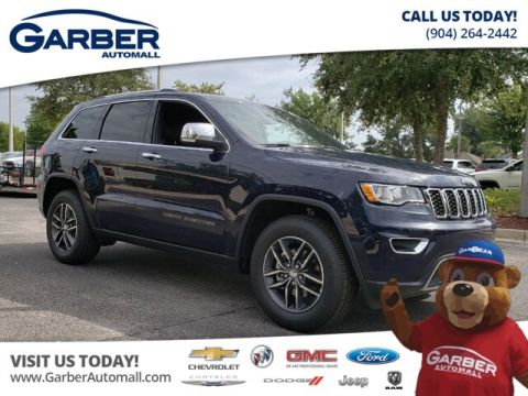 New 2018 Jeep Grand Cherokee Limited w/ Apple Car Play