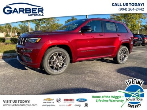 2020 Jeep Grand Cherokee Limited X With Navigation & 4WD
