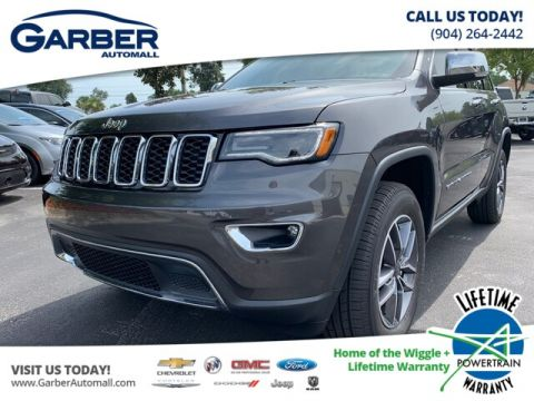 2019 Jeep Grand Cherokee Limited 4x4 Trailer Tow Group IV, Luxury Group 4WD