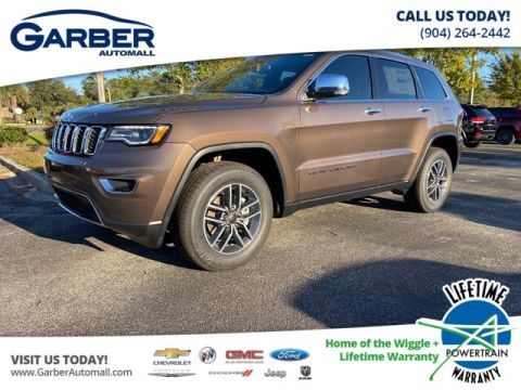 2020 Jeep Grand Cherokee Limited With Navigation & 4WD