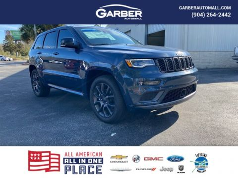 New 2020 Jeep Grand Cherokee Overland, High Alitude Edition With Navigation & 4WD