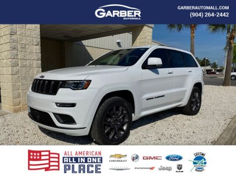 2020 Jeep Grand Cherokee Overland 4x4, 19 SPKRS Audio With Navigation & 4WD