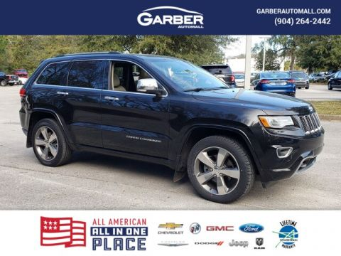2015 Jeep Grand Cherokee Overland With Navigation & 4WD