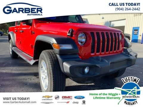 2020 Jeep Gladiator Sport 4x4, Trailer Tow, Soft Top 4WD