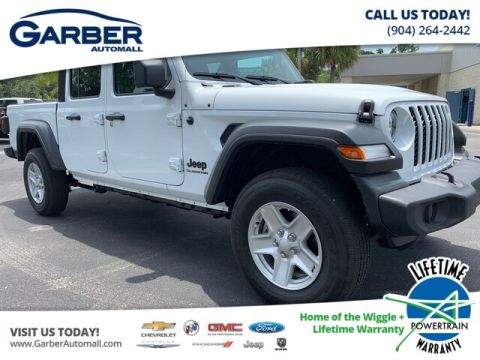 2020 Jeep Gladiator Sport 4x4, Soft Top, auto, 24s package 4WD