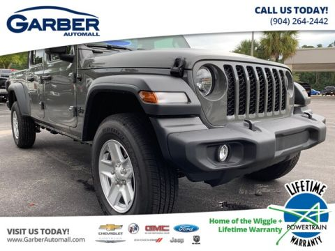 New 2020 Jeep Gladiator Sport 4x4, Alpine Radio, Soft Top