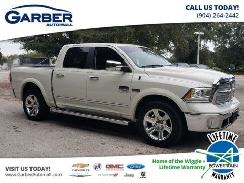 2016 RAM 1500 Longhorn With Navigation & 4WD