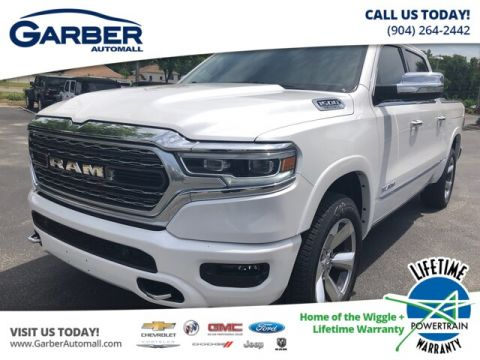 New 2019 RAM 1500 Limited Crew 4x2 in Loaner Status
