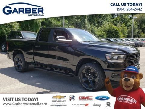 New 2019 RAM 1500 Big Horn Quad 4x4 Hemi Black Appearance Group