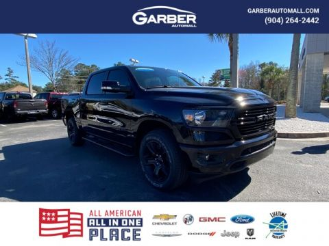 2020 Ram 1500 Big Horn 4x4, Night Edition, Rambox Cargo 4WD