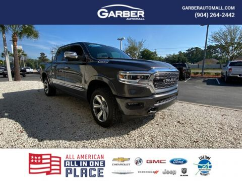 2020 Ram 1500 Limited 4x4, Dual Pana Roof With Navigation & 4WD