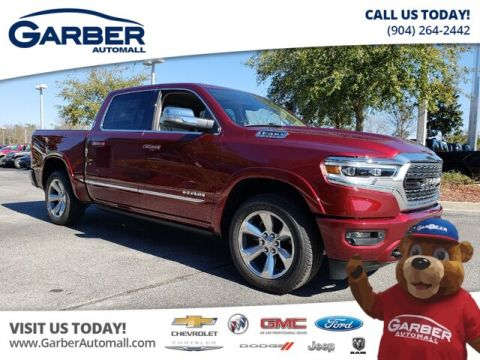 New 2019 RAM 1500 Limited Crew 4x4 Hemi Loaded With Navigation & 4WD
