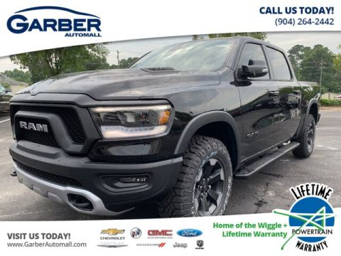 New 2019 RAM 1500 Rebel 4x4, Nav and Remote Start 4WD