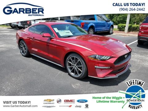 New 2019 Ford Mustang EcoBoost, 100A, 10-Speed Automatic,