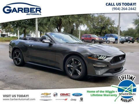 New 2019 Ford Mustang EcoBoost RWD Convertible