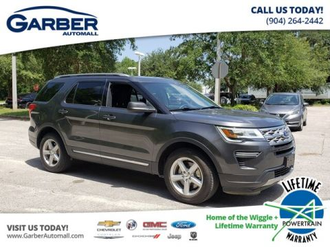Pre-Owned 2018 Ford Explorer XLT FWD SUV