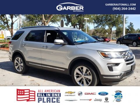 Pre-Owned 2019 Ford Explorer Limited With Navigation & 4WD