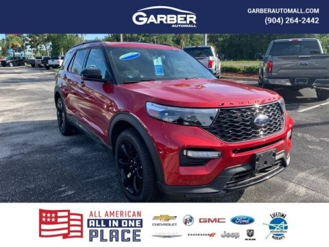 2020 Ford Explorer ST With Navigation & 4WD