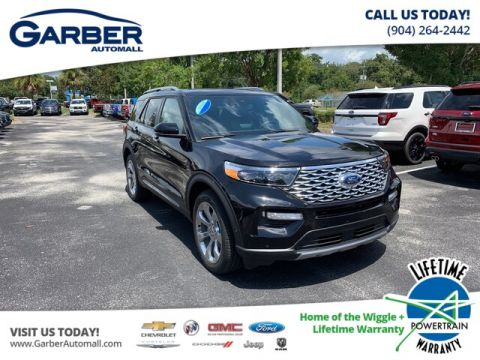 New 2020 Ford Explorer Platinum, Prem Tech Package, 21 wheels