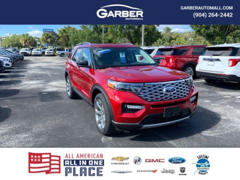 2020 Ford Explorer Platinum With Navigation & 4WD