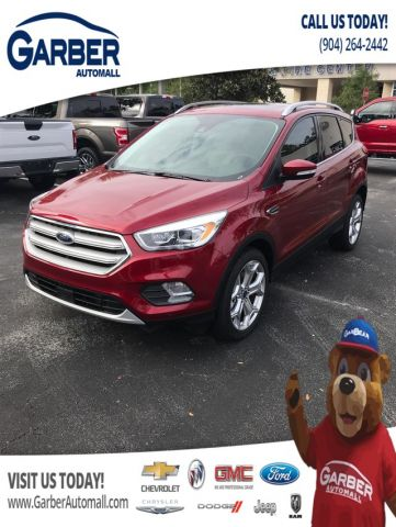 New 2019 Ford Escape Titanium With Navigation