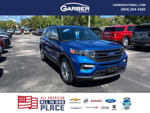 New 2020 Ford Explorer XLT, 202A, Moonroof, 360 Assist, Remote Start