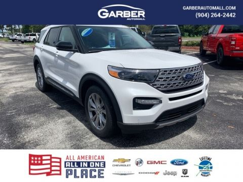 2020 Ford Explorer Limited With Navigation