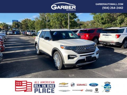 New 2020 Ford Explorer Limited, 300A, 360 Assist, Tow Package, 20 Wheels With Navigation