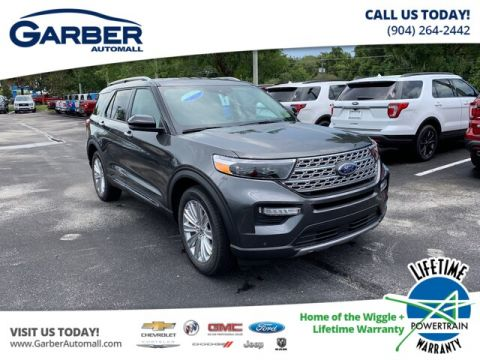 2020 Ford Explorer Limited With Navigation & 4WD