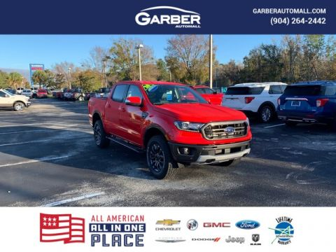 New 2020 Ford Ranger Lariat, 501A, REmote Start, B&O Sys RWD 4D Crew Cab