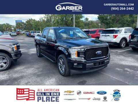 New 2020 Ford F-150 XL, 101A, Ecoboost, Running Boards, STX Pkg, RWD 4D SuperCrew
