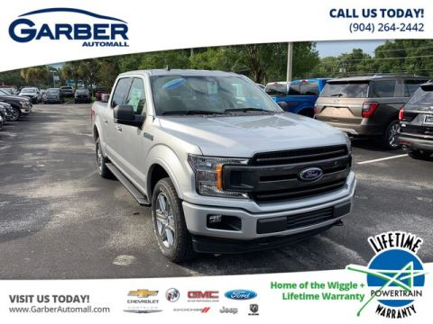 New 2019 Ford F-150 XLT, V8, FX4, 302A 4WD