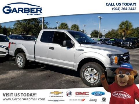 New 2019 Ford F-150 XLT SUPERCAB 4WD 4WD