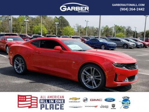 New 2019 Chevrolet Camaro 1LT, RS Pkg, Sunroof, 8-speed Automatic RWD 2D Coupe