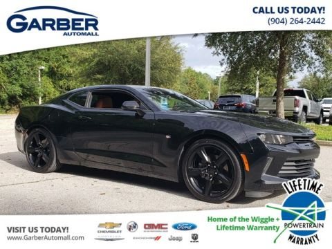 Pre-Owned 2017 Chevrolet Camaro 2LT RWD Coupe