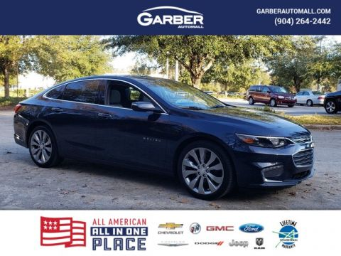 Pre-Owned 2017 Chevrolet Malibu Premier w/2LZ With Navigation