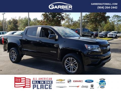 New 2020 Chevrolet Colorado WT, Bedliner, Keyless Entry, 18 Wheels RWD 4D Crew Cab
