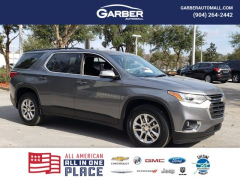 Pre-Owned 2019 Chevrolet Traverse LT Cloth w/1LT FWD SUV