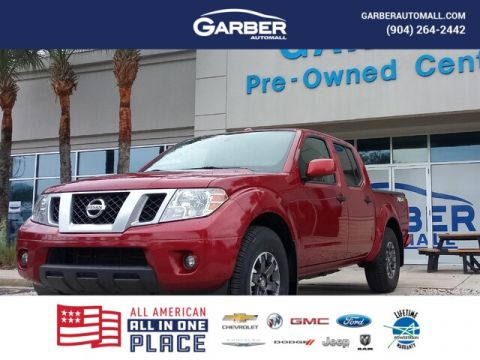 2018 Nissan Frontier PRO-4X With Navigation & 4WD