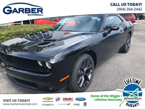 2019 Dodge Challenger SXT, Black Top Package, Premium Package