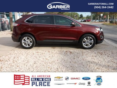 2015 Ford Edge SEL w/Leather + Navigation + Sunroof
