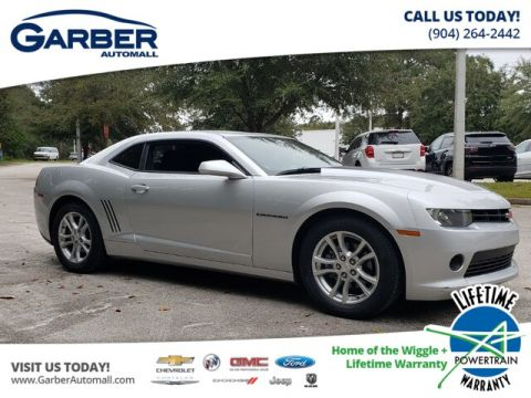 Pre-Owned 2015 Chevrolet Camaro LS w/1LS RWD Coupe