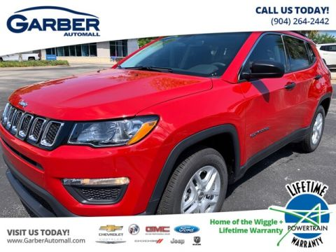 New 2019 Jeep Compass Sport, DEMO W/EXTRA REBATES FWD SUV